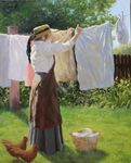 Putting Out Laundry