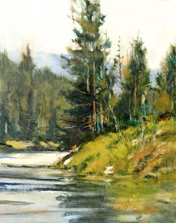 Canvas Santa Fe >> George Pate   Artist   Gallery in Santa Fe NM